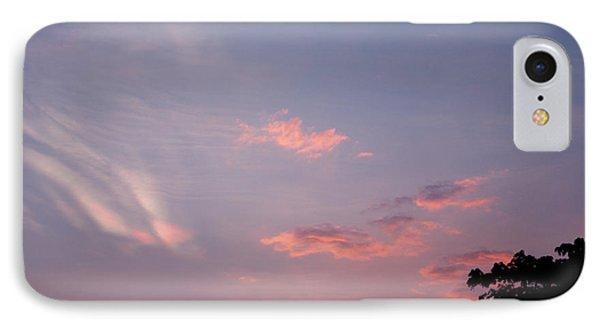 Romantic Sky IPhone Case by Kiran Joshi
