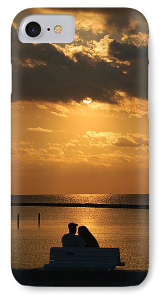Romantic Sunrise IPhone Case by Leticia Latocki