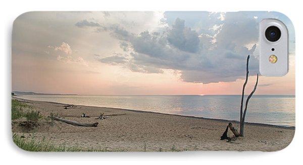 Romantic Sunset At Agate Beach IPhone Case