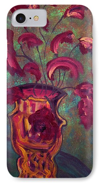 Romantic Vase  Phone Case by Oscar Penalber