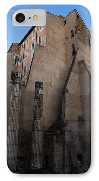 Rome - Centuries Of History And Architecture  Phone Case by Georgia Mizuleva