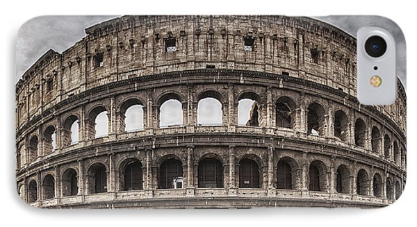 Rome Colosseum 02 IPhone Case by Antony McAulay