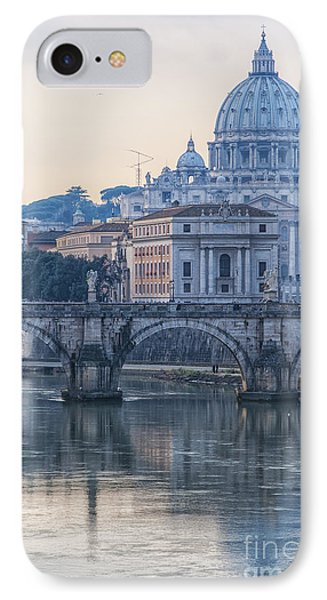 Rome Saint Peters Basilica 02 IPhone Case by Antony McAulay