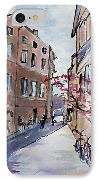 Rome Street Scene IIi IPhone Case