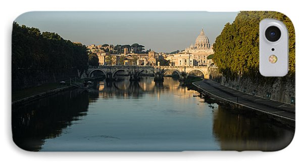 IPhone Case featuring the photograph Rome Waking Up by Georgia Mizuleva