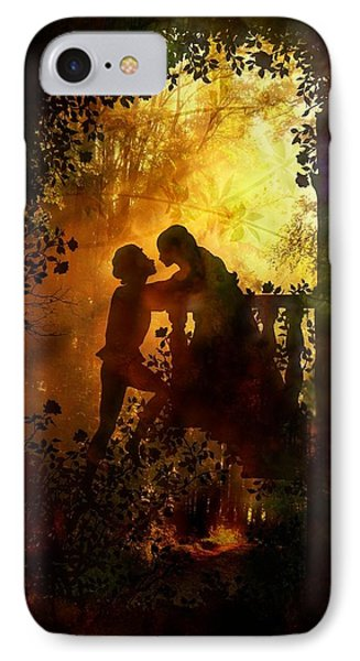 Romeo And Juliet - The Love Story IPhone Case by Lilia D