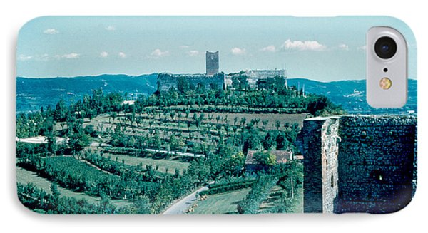 Romeo Castle 1962 Phone Case by Cumberland Warden