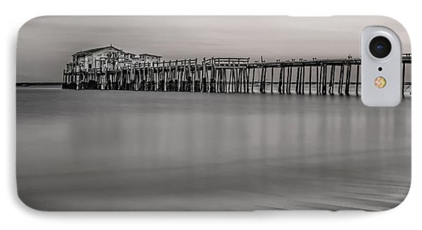 Romeo's Pier Bw IPhone Case by Linda Villers