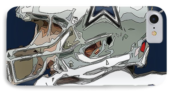 Romo Comic Style Abstract IPhone Case by David G Paul