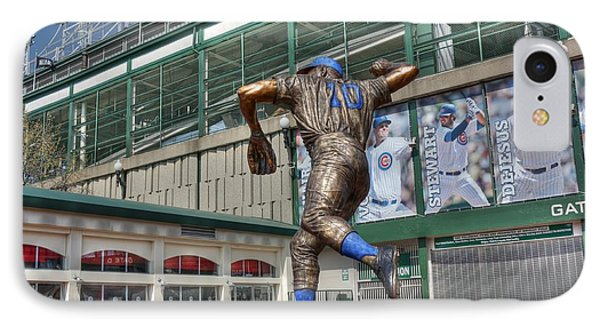 Ron Santo - 10 IPhone Case by David Bearden