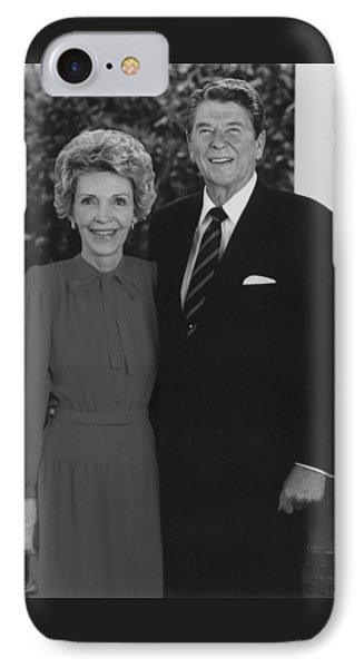 Ronald And Nancy Reagan Phone Case by War Is Hell Store