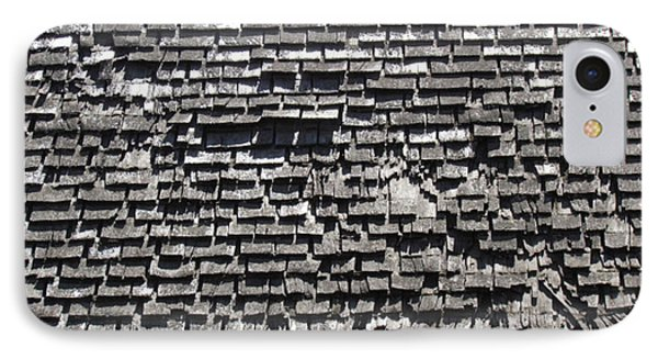 Roof Textures IPhone Case by Bonnie Muir