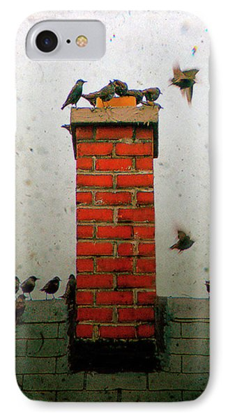 Roof Top Hoppers IPhone Case by Gothicrow Images