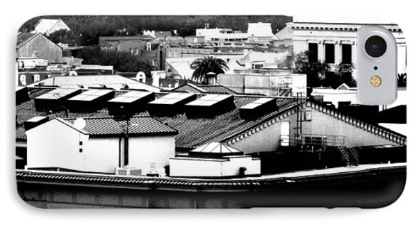 IPhone Case featuring the photograph Roof Tops by Gayle Price Thomas