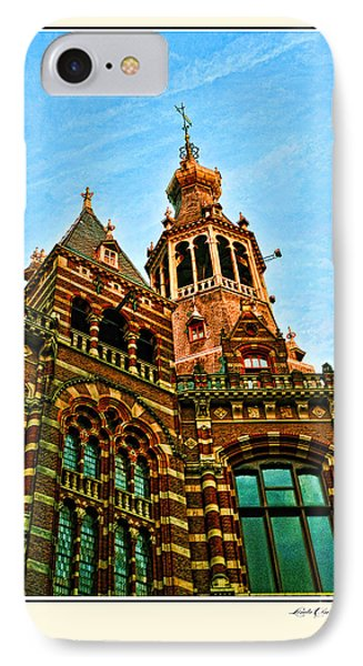 Roofs In Amsterdam IPhone Case by Linda Olsen
