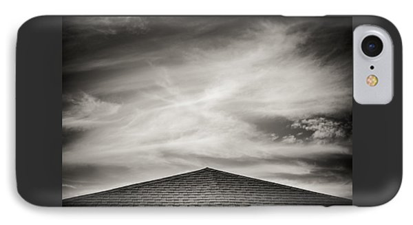 Rooftop Sky Phone Case by Darryl Dalton