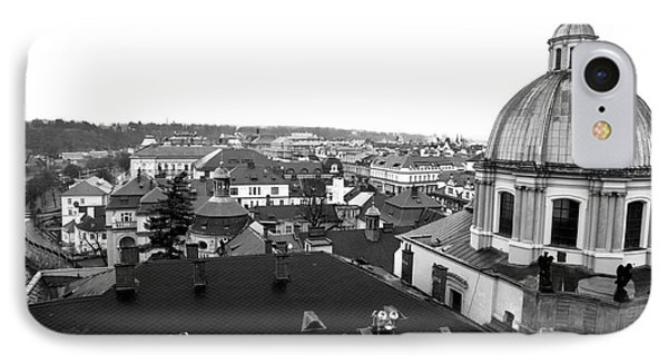 Rooftop View In Praha Phone Case by John Rizzuto