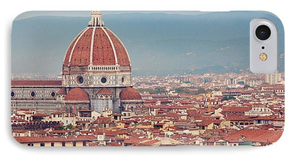 Rooftop View Of Florence Italy IPhone Case by Kim Fearheiley
