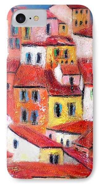 Rooftops Collioure IPhone Case