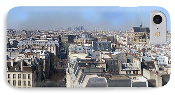 Rooftops Of Paris Phone Case by Thomas Marchessault
