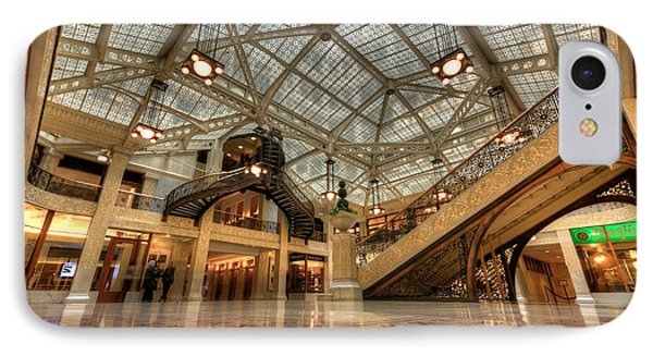Rookery Building Main Lobby And Atrium IPhone Case