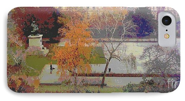 Room With A View Zagreb IPhone Case by Ann Johndro-Collins