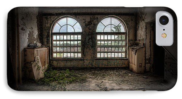 Room With Two Arched Windows Phone Case by Gary Heller