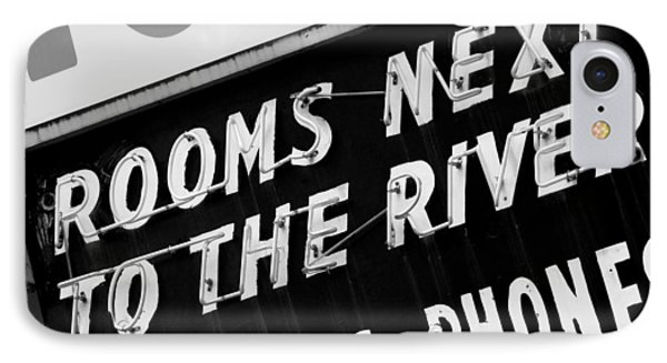 Rooms Next To The River IPhone Case by Daniel Woodrum