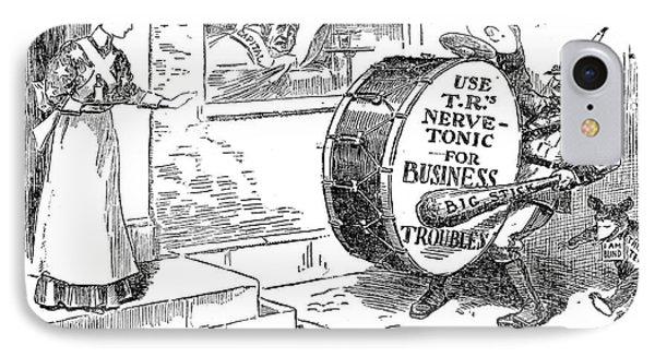 Roosevelt Cartoon, 1908 Phone Case by Granger