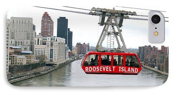 Roosevelt Island Tram Phone Case by Ed Weidman