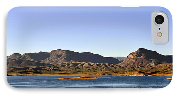 Roosevelt Lake Arizona Phone Case by Christine Till