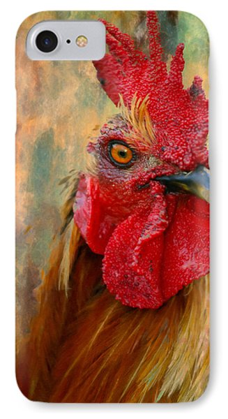 Rooster On The Loose - Abstract Realism IPhone Case