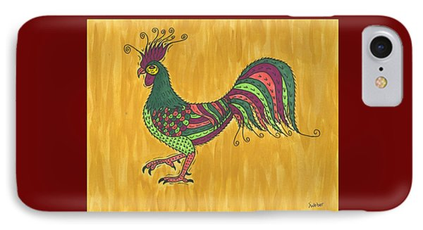 Rooster Strut IPhone Case by Susie Weber