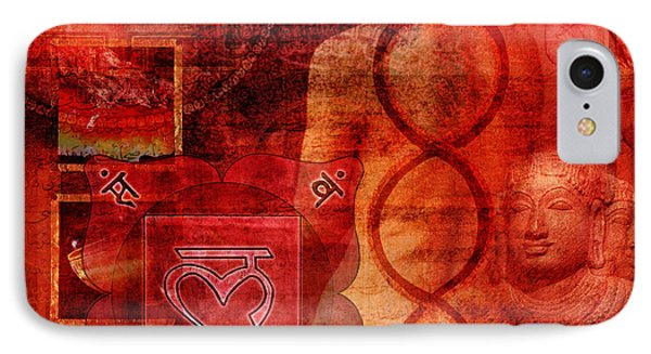 Root Chakra IPhone Case by Mark Preston