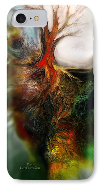Roots Phone Case by Carol Cavalaris