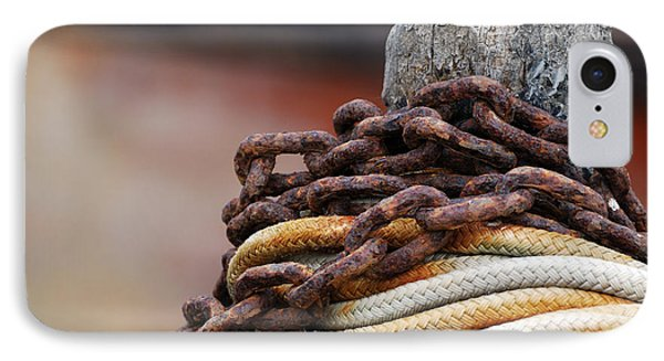 Rope And Chain IPhone Case by Wendy Wilton