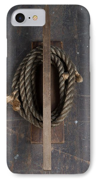 IPhone Case featuring the painting Rope Holder by Izabella West