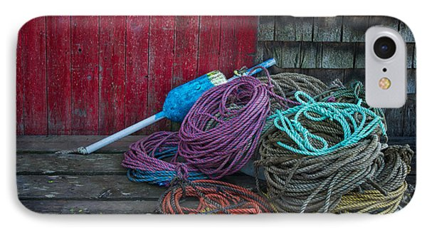 Ropes And Buoy IPhone Case by Darylann Leonard Photography
