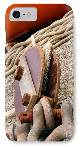 Ropes And Chains Phone Case by Terri Waters