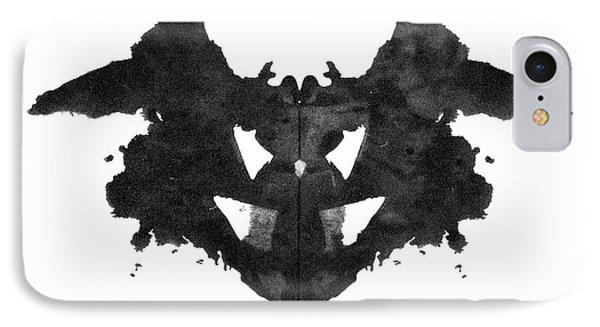 Rorschach Inkblot, 1921 IPhone Case by Granger