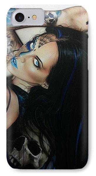 Portrait - ' Rosa Azul ' IPhone Case