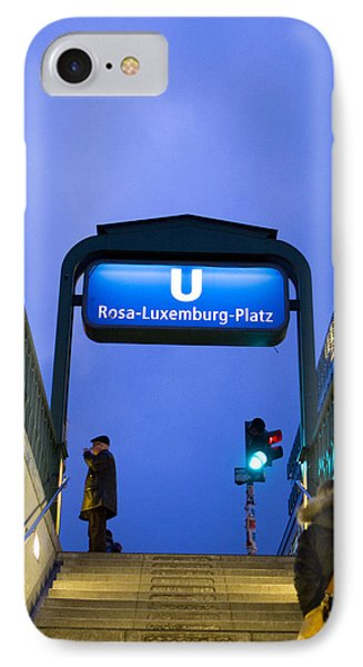 Rosa Luxemburg IPhone Case by Adrien E