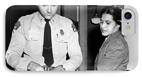 Rosa Parks Gets Fingerprinted IPhone Case by Underwood Archives
