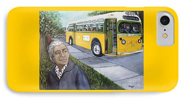 Rosa Parks Phone Case by Reb Frost