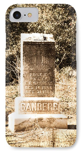 Rosa Sanders - Vintage Phone Case by Bob and Nancy Kendrick