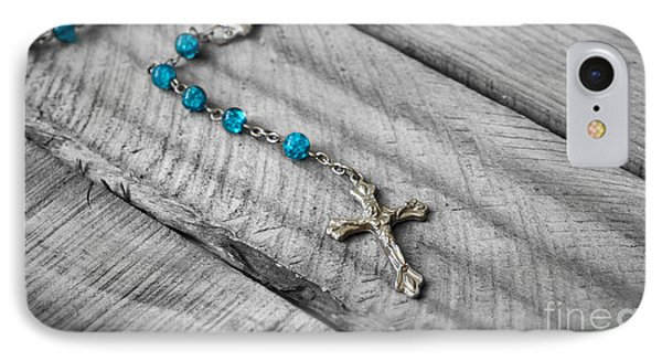 Rosary IPhone Case by Aged Pixel