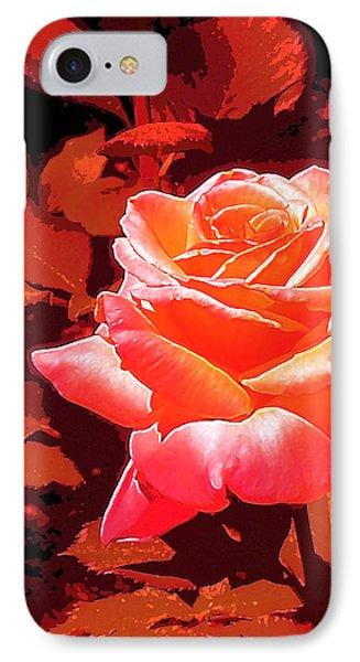 Rose 1 IPhone Case by Pamela Cooper