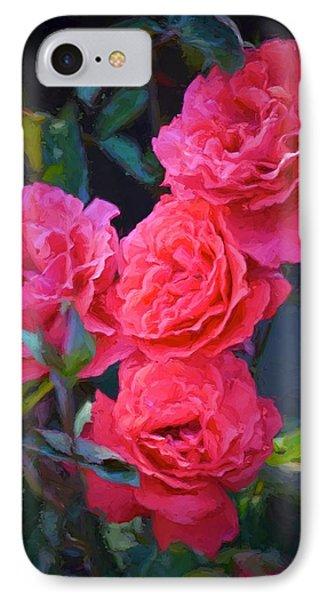Rose 138 IPhone Case by Pamela Cooper