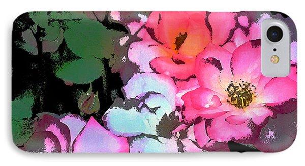 Rose 197 Phone Case by Pamela Cooper