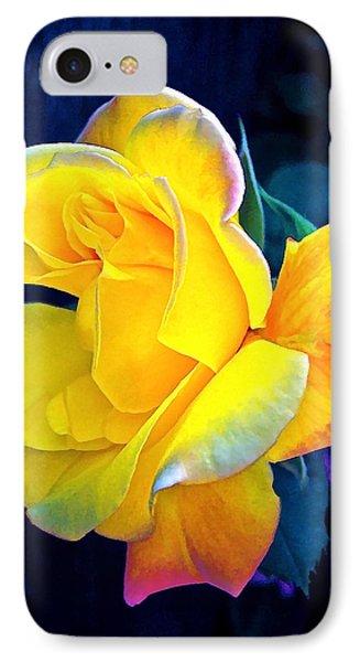 Rose 4 IPhone Case by Pamela Cooper